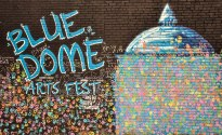 Blue Dome Arts Fest Mural