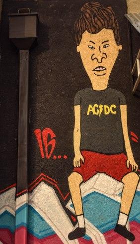 Butt-Head Mural