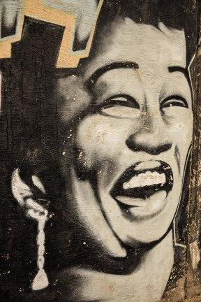 Blues Festival Mural