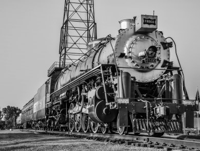 Frisco Meteor Locomotive