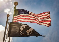 Flags (American & POW-MIA)