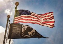 Flags (American & POW-MIA)
