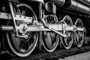 This train is on display in Tulsa, OK. Featured in WPC: Detail - Frisco 4500 Meteor Locomotive Wheels.